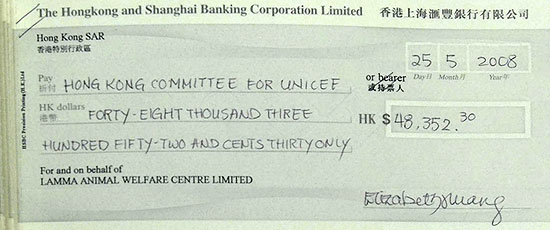 Cheque cashing in Hong Kong? - Hong Kong Forum